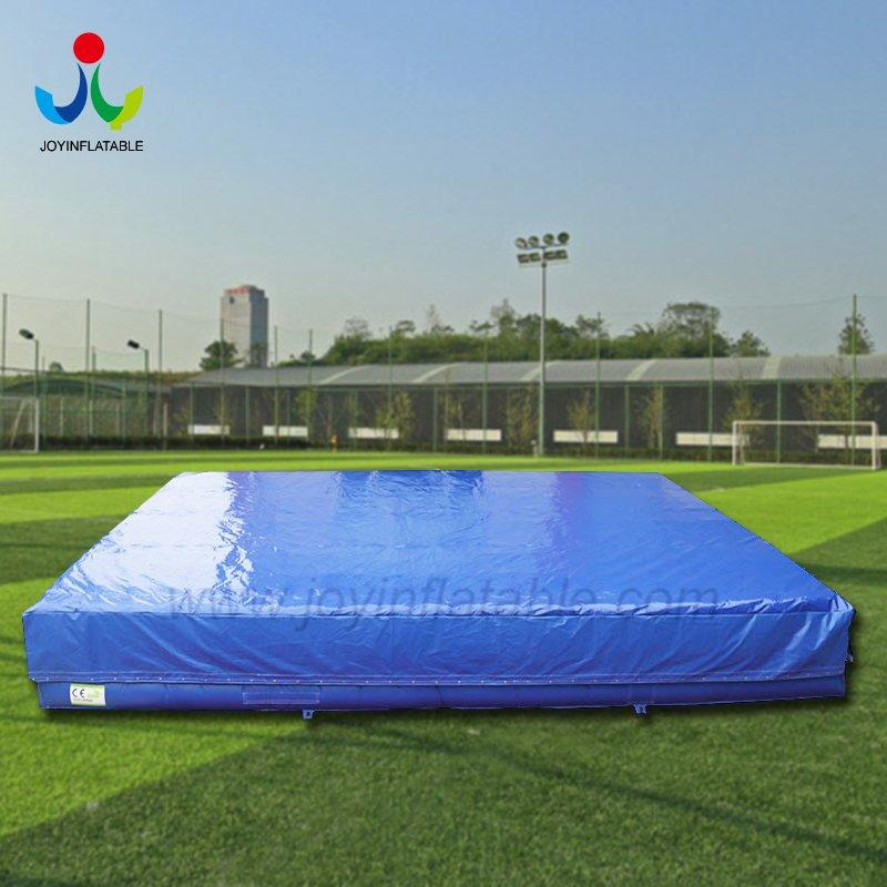 Foam Pit Inflatable Big Air Bag at Trampoline Park