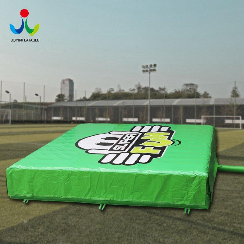 Inflatable Airbag Stunts With Pillow