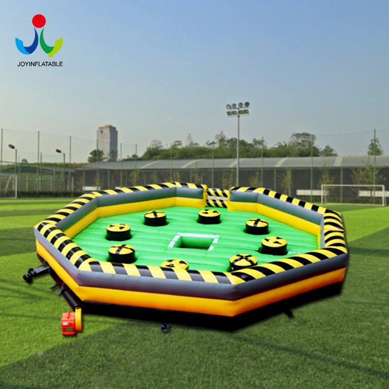 Inflatable meltdown game