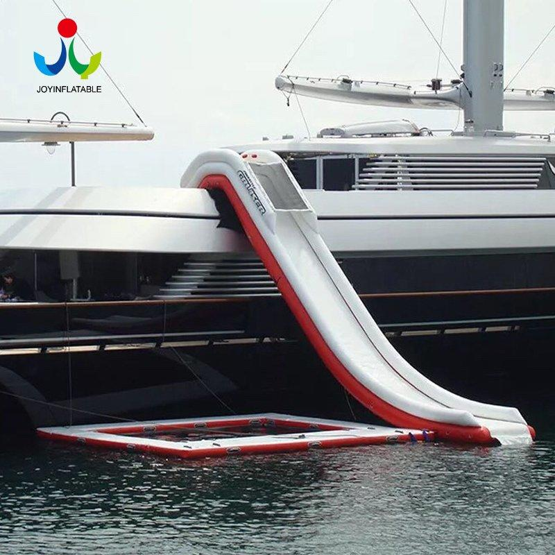 Inflatable Dock Water Slide for Yacht