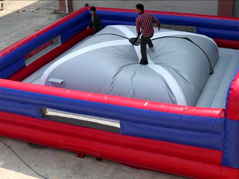 Inflatable King of the Hill Challenge