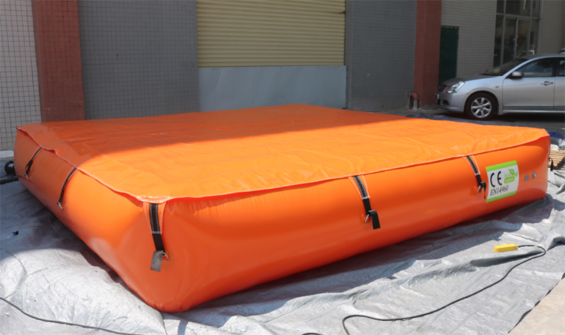 inflatable air bag for safety