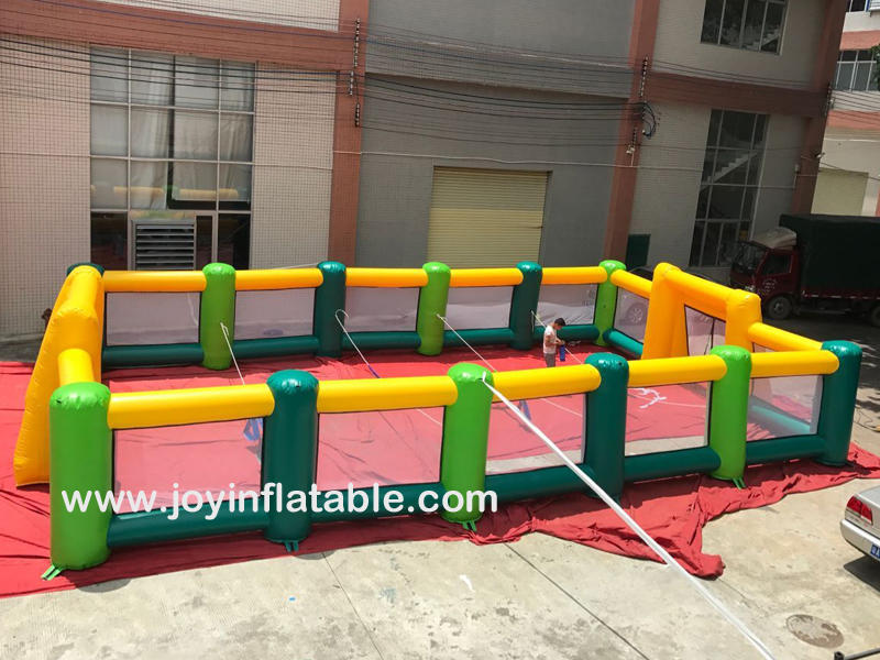 Inflatable Soap Water Soccer Football Field For Sale