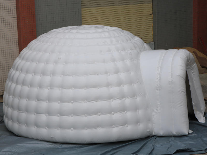dia 5m inflatable igloo air tent