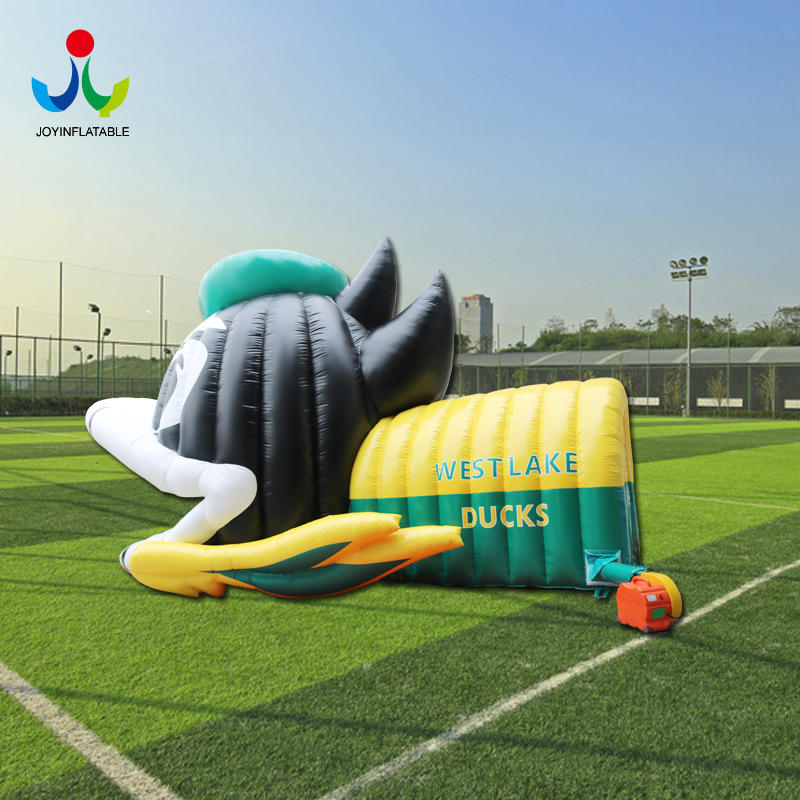 Inflatable Helmet Sport Tunnel Entrance Tent For Sale