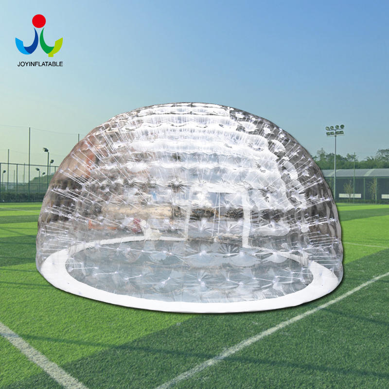 0.8mm Clear PVC Inflatable IglooTent For Outdoor Event