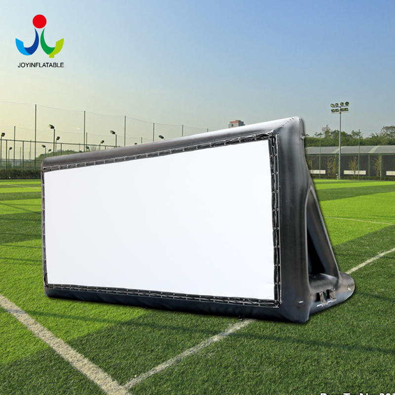Inflatable Projection Showing Wall Movie Screen For Outdoor Advertising
