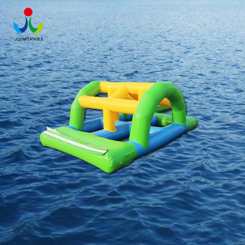 Inflatable Mini  Floating Bouncy Island Water Park