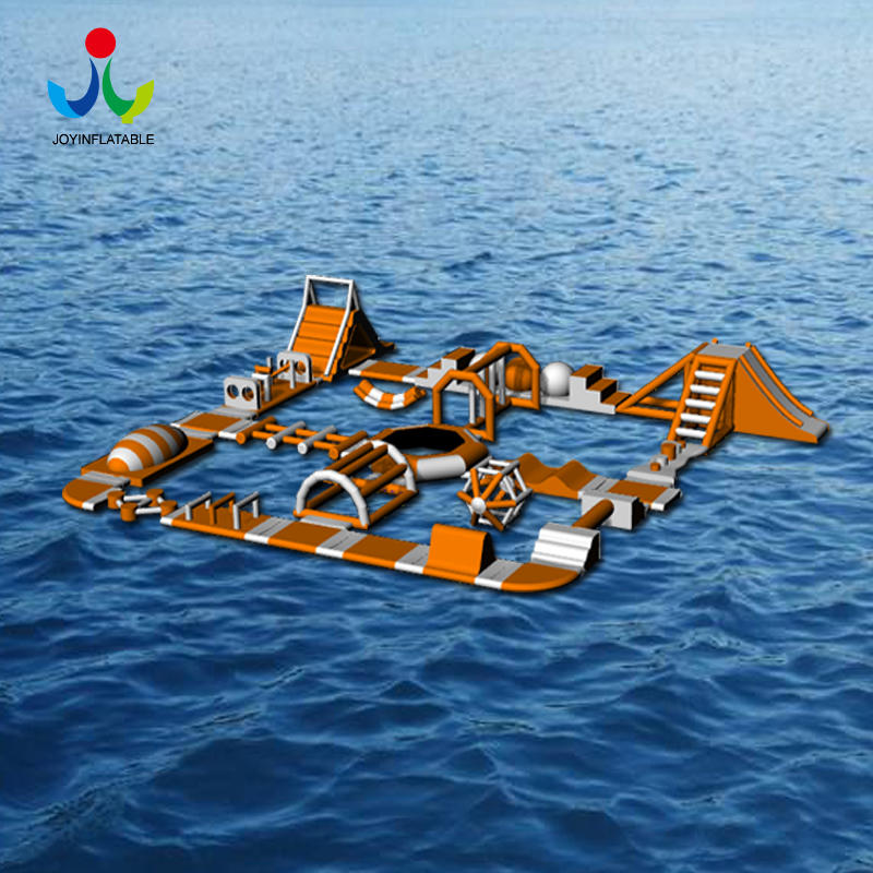 Inflatable Floating Obstacle Water Game for the Sea Park
