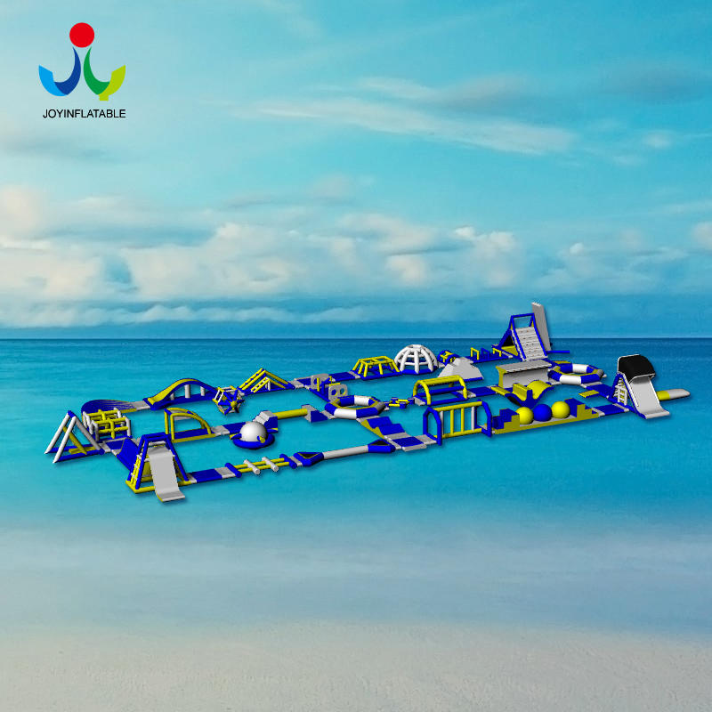 Outdoor Inflatable Aqua Island Park For the Water Sea