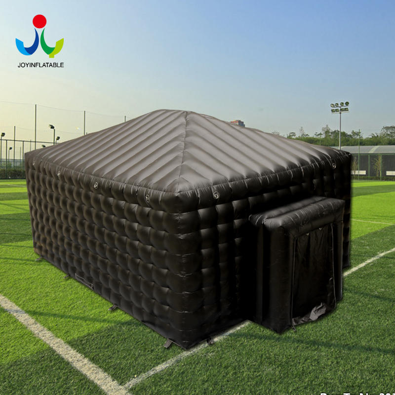 Inflatable Cube Party Advertising Exhibition Trade Show Tent in Black
