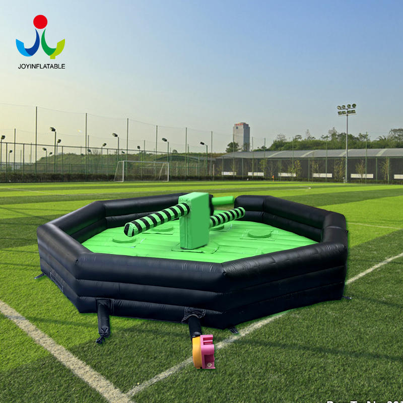 Inflatable Round Meltdown Eliminator Game with Controller