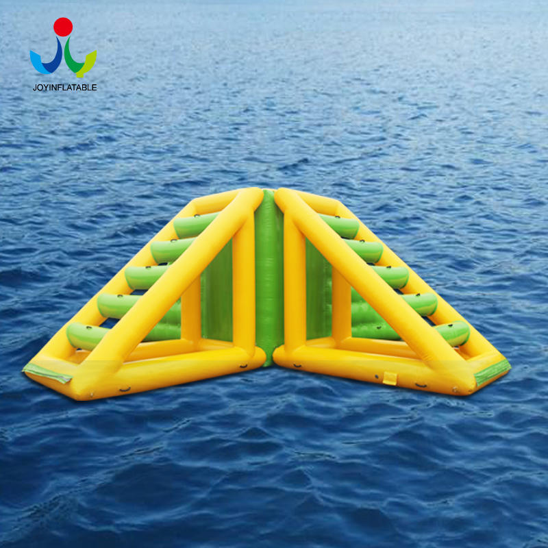 Inflatable Water Park Equipment Floating Amusement Water Slide