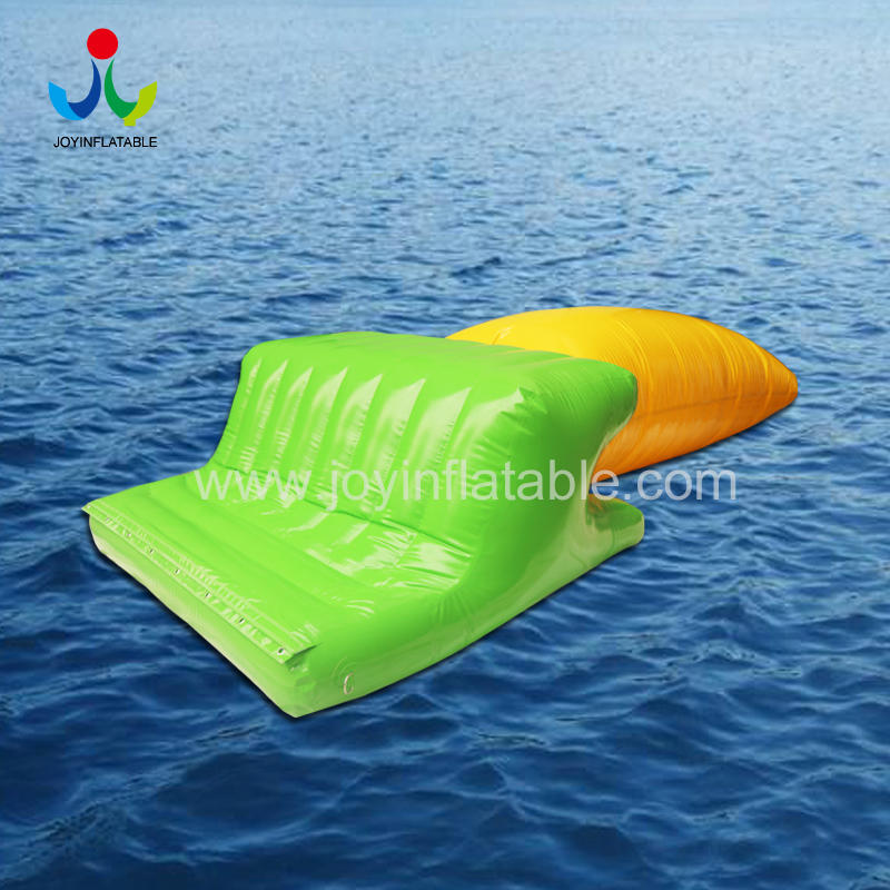 Water Game Inflatable Water Blob Jump Pillow With Platform