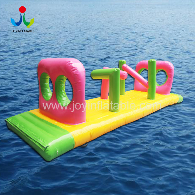 Custom  Inflatable Sport Aqua Ocean Park For Commercial Amusement