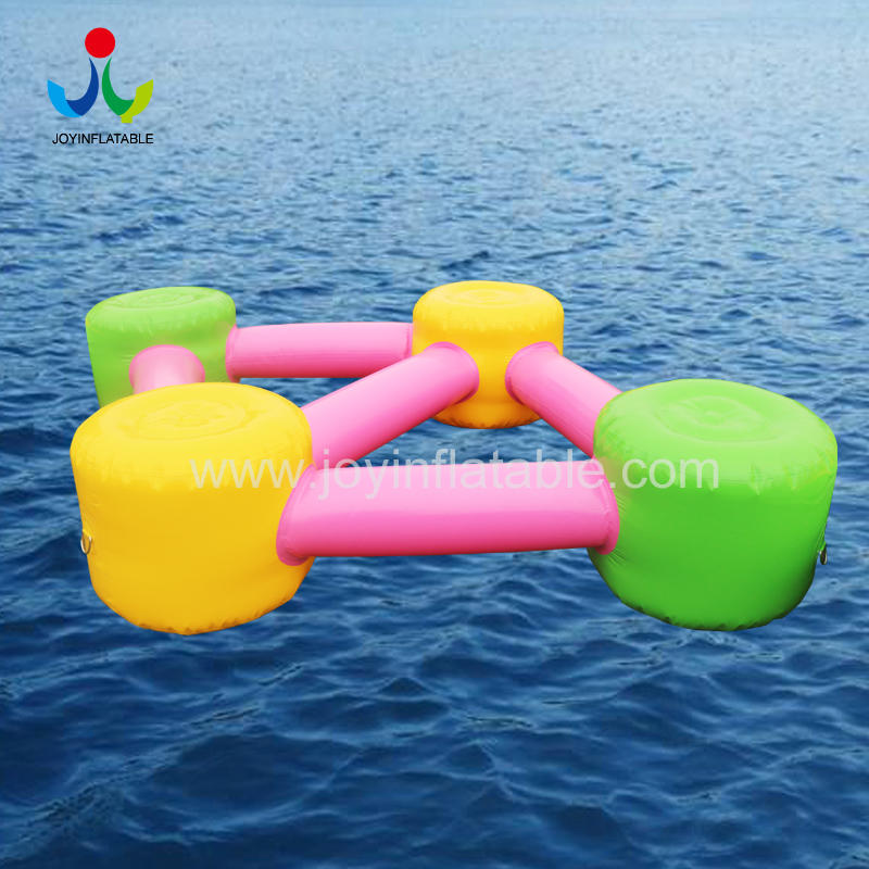 Hot Inflatable Water Floating Island Bed Park