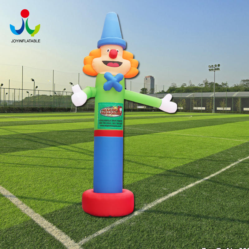 Manufacturer Opening Celebration Air Dance Star Beckoning Clown Advertising Inflatable Man