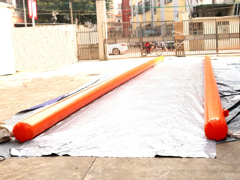 Inflatable Free Fall Inflatable Slip N Fly Water City Slidefor Outdoor Playground