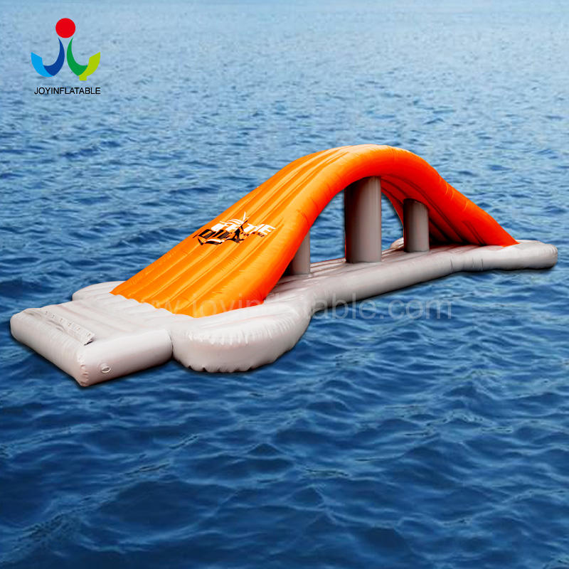 Manufacturer Huge Inflatable Water Slide Floating Trampoline Sport Games Park for Adult