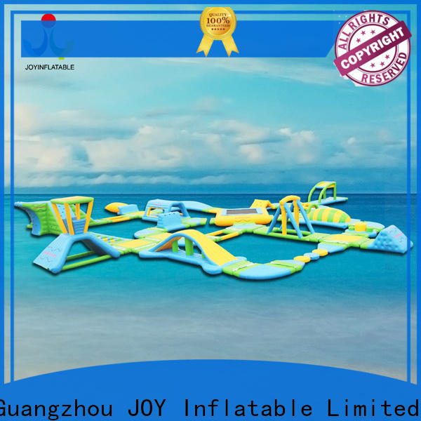JOY inflatable professional floating water park inquire now for children