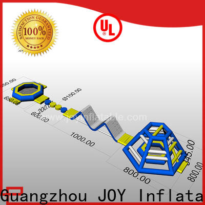 JOY inflatable fun inflatable lake trampoline factory for child