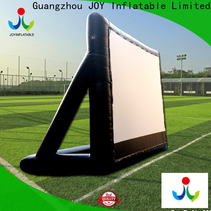 JOY inflatable safety inflatable movie screen directly sale for children