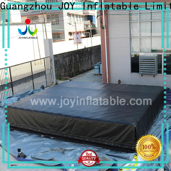 JOY inflatable platform outdoor foam pit from China for kids