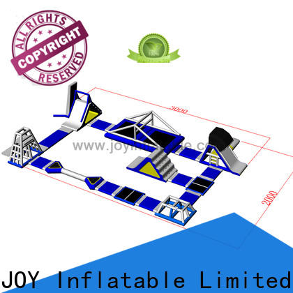 JOY inflatable durable floating water park inquire now for children