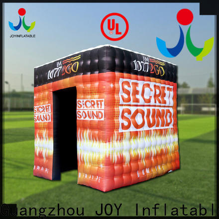 JOY inflatable Inflatable cube tent manufacturers for outdoor