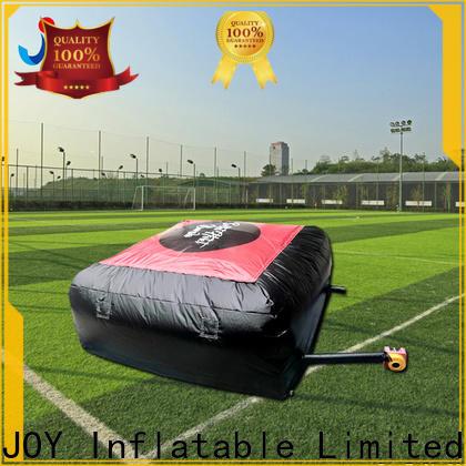 JOY inflatable stunt landing mats customized for child
