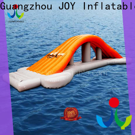 JOY inflatable slides inflatable water trampoline supplier for kids