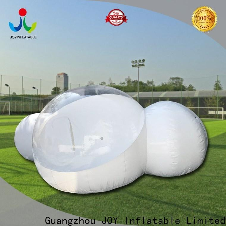 seesaw inflatable plastic bubble factory for child