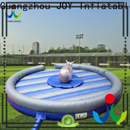 JOY inflatable mechanical bull cost price for adults and kids