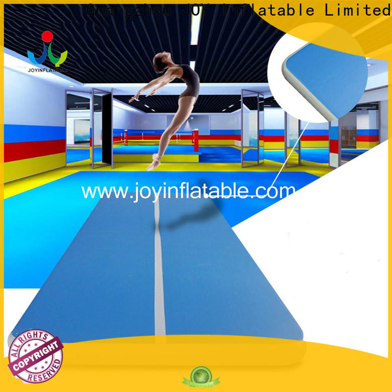 JOY inflatable Custom air track gymnastics cheap factory price for gym