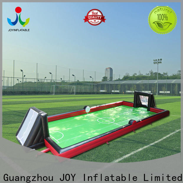 JOY inflatable Bulk blow up soccer field cost for outdoor