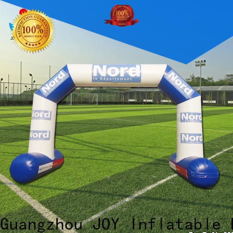 JOY inflatable rainbow inflatable race arch factory price for children