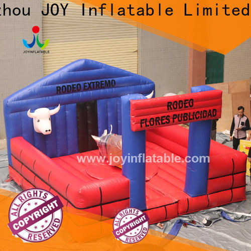 JOY inflatable Custom made inflatable mechanical bull for sale supply for games