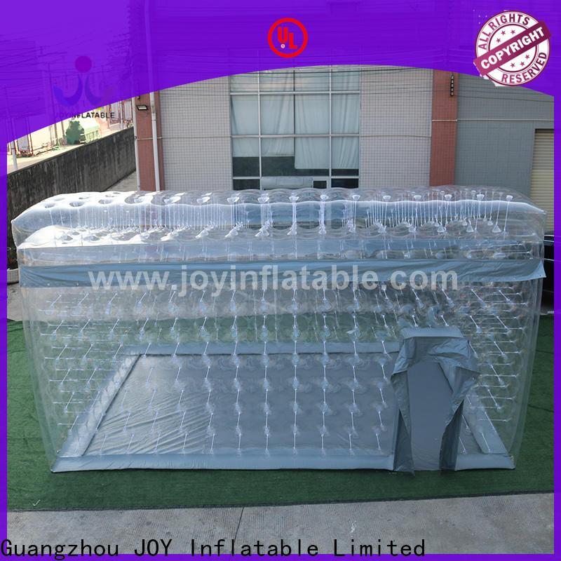 JOY inflatable bridge transparent bubble tents for sale wholesale for child