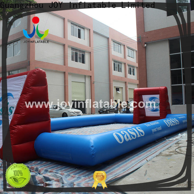 JOY inflatable giant inflatable soccer field suppliers for sports