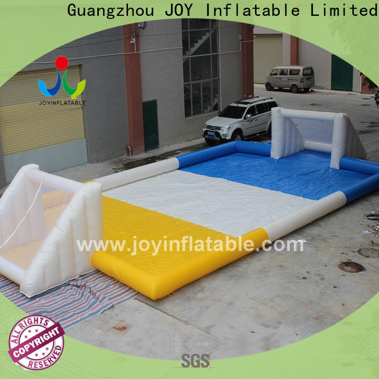JOY inflatable New blow up soccer field supply for water soap sport event