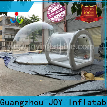 swing air bubble tent company for outdoor