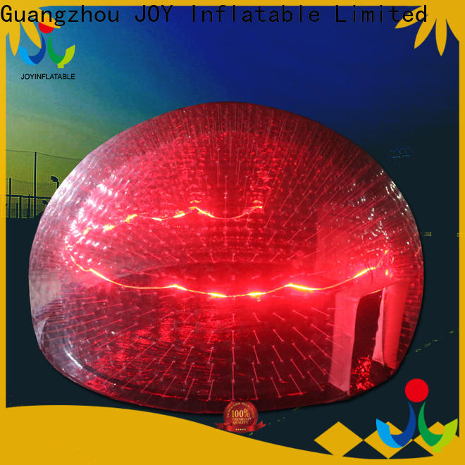 JOY inflatable transparent camping tent for sale from China for children