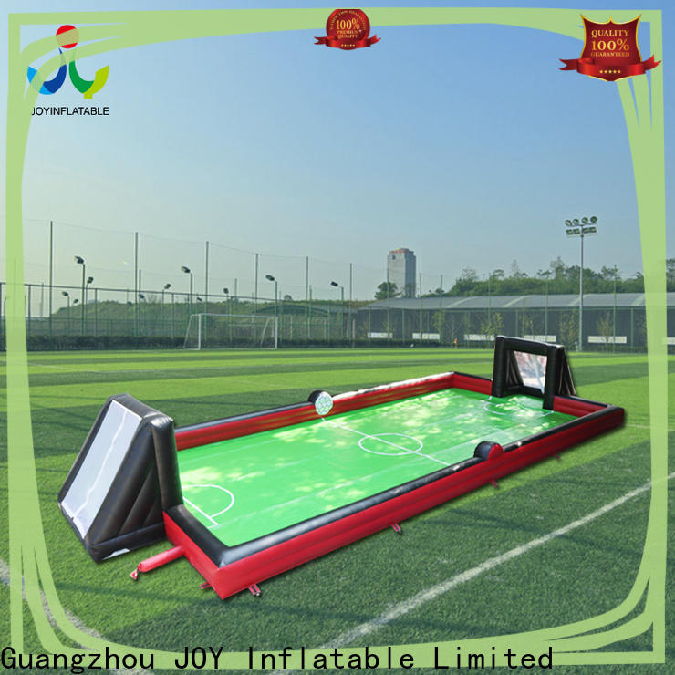 Custom inflatable soccer field vendor for outdoor sports event
