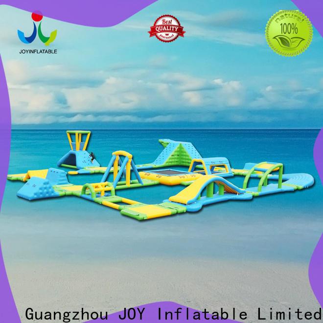 JOY inflatable slides inflatable lake trampoline design for outdoor