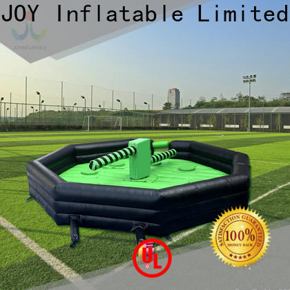 JOY inflatable Custom wipeout bounce house cost for outdoor playground