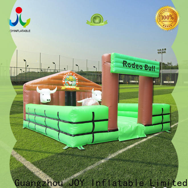 JOY inflatable Professional bull ride inflatable price for games