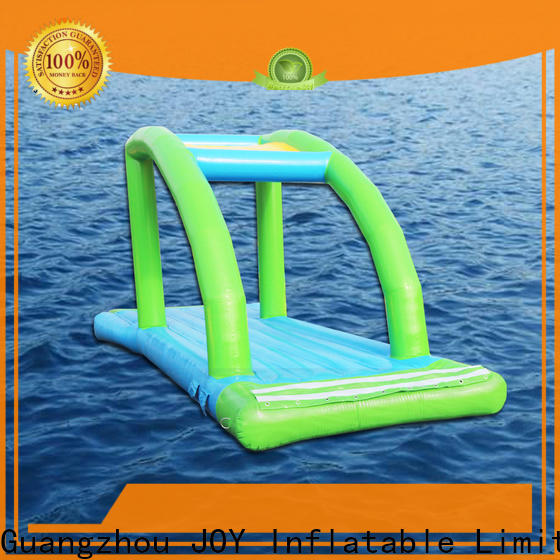 JOY inflatable mountain floating water trampoline for sale for kids