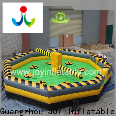 JOY inflatable wipeout bouncy castle vendor for outdoor playground