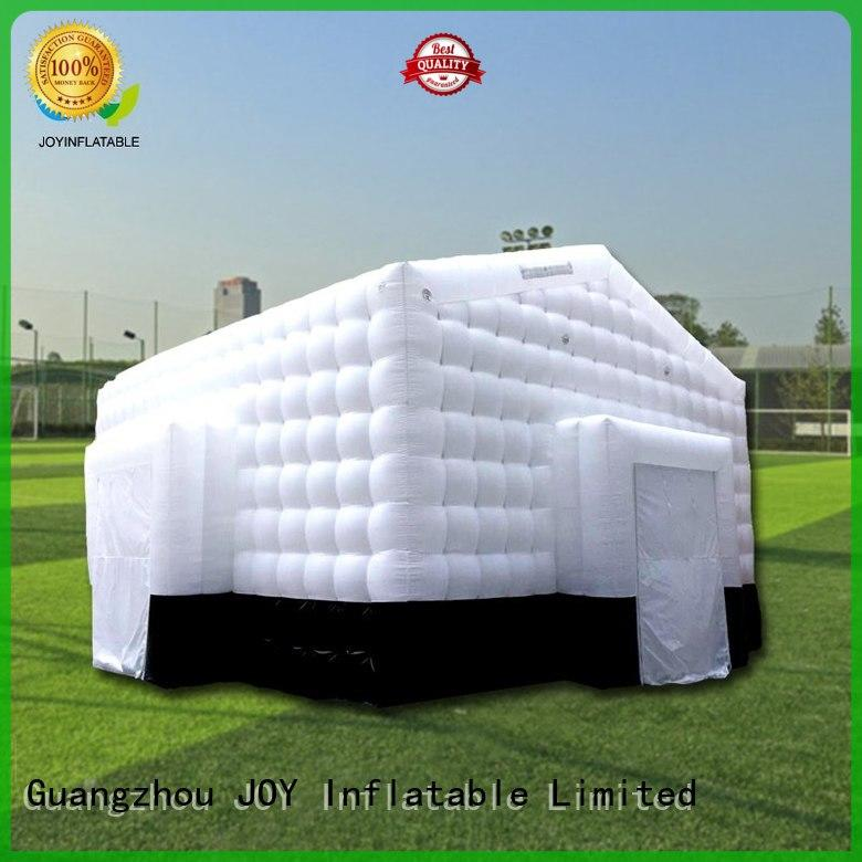 pvc 8x7x5m trendy Inflatable cube tent shelter JOY inflatable