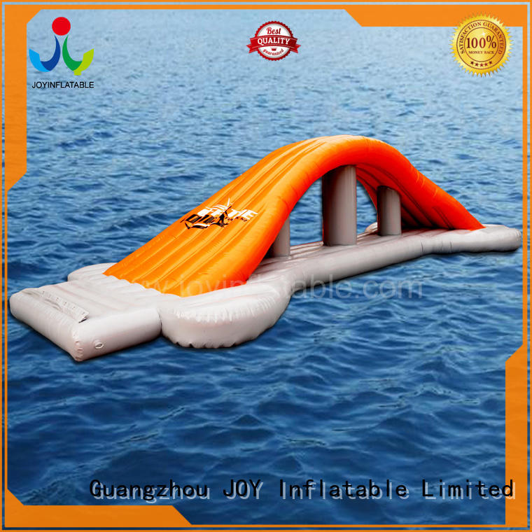 JOY inflatable fun floating water trampoline factory price for child